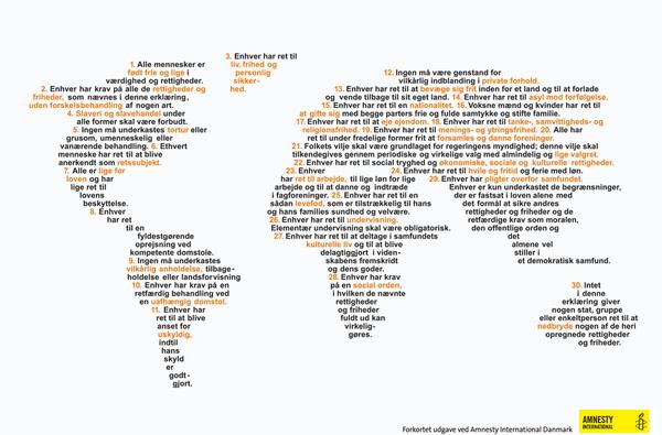 verdenskort med menneskerettigheder